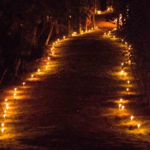 Caminho de velas