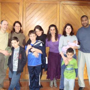 celebrando os 15 anos com os já crescidos babies tenda