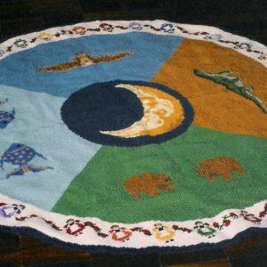 Tapete - um presente daTenda da Lua para a Tenda da Terra